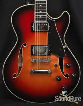 Comins GCS-1ES Autumn Burst Semi-Hollow Guitar 6384