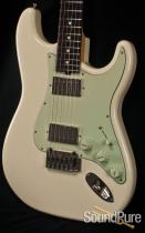 Tuttle Vintage White Custom Classic S Electric Guitar SN209
