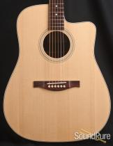 Eastman AC220CE Dreadnought Acoustic/Electric Guitar 016