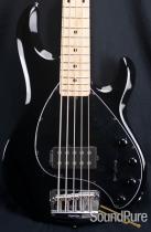 Ernie Ball Music Man Black StingRay 5 Bass Guitar