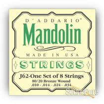 D,Addario J62 Mandolin Strings