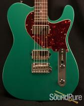 Suhr Classic T Sherwood Green Metallic Electric Guitar 17406