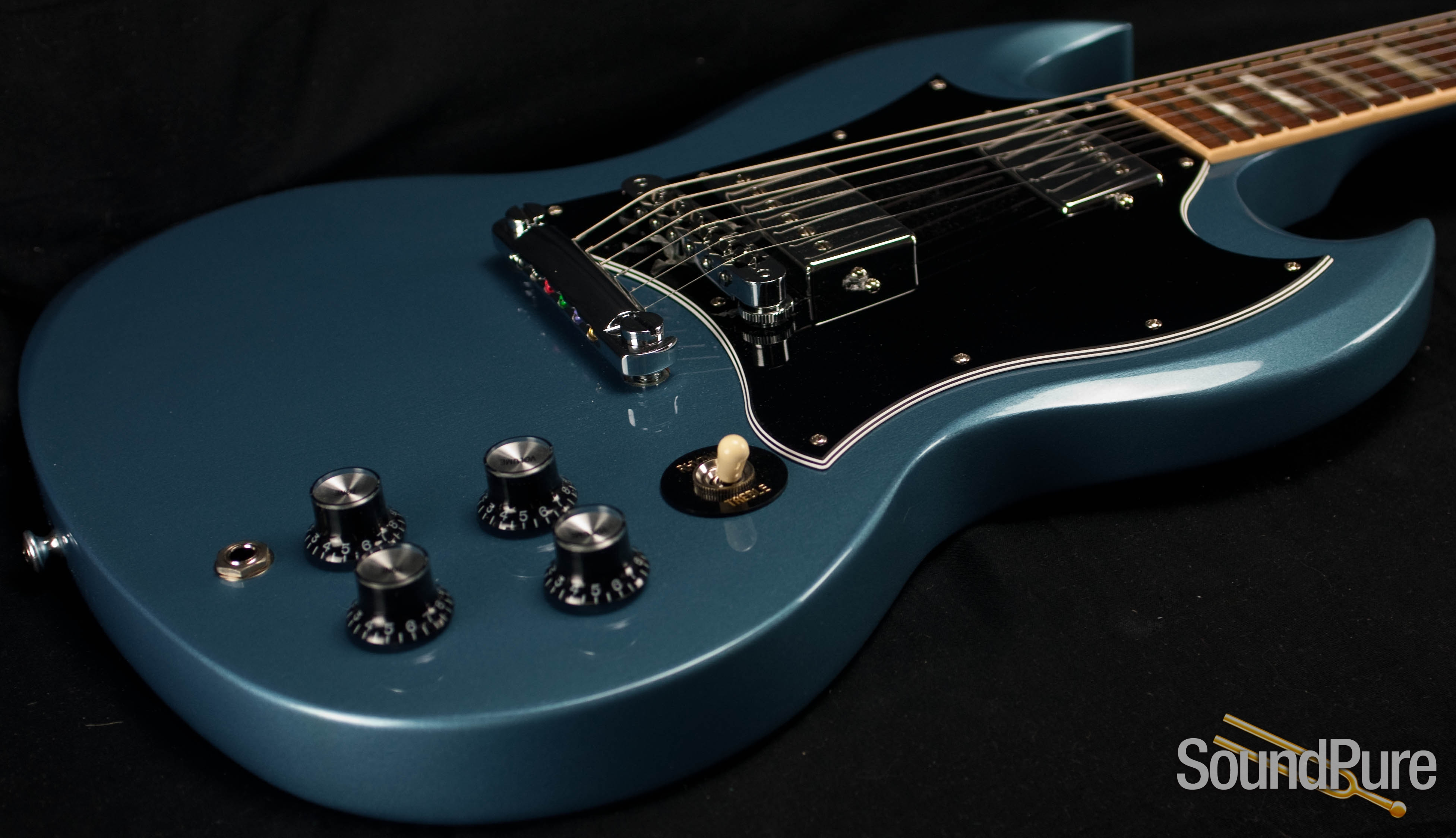 Gibson SG Standard Limited Edition Pelham Blue Guitar - Used