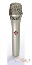 Neumann KMS 105 NI Microphone (Nickel/Silver Finish)