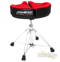 Ahead Spinal G Saddle Drum Throne Red Top Black Side SPG-R