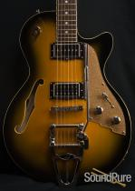 Duesenberg Starplayer TV 2-Tone Semi-Hollow Electric Guitar