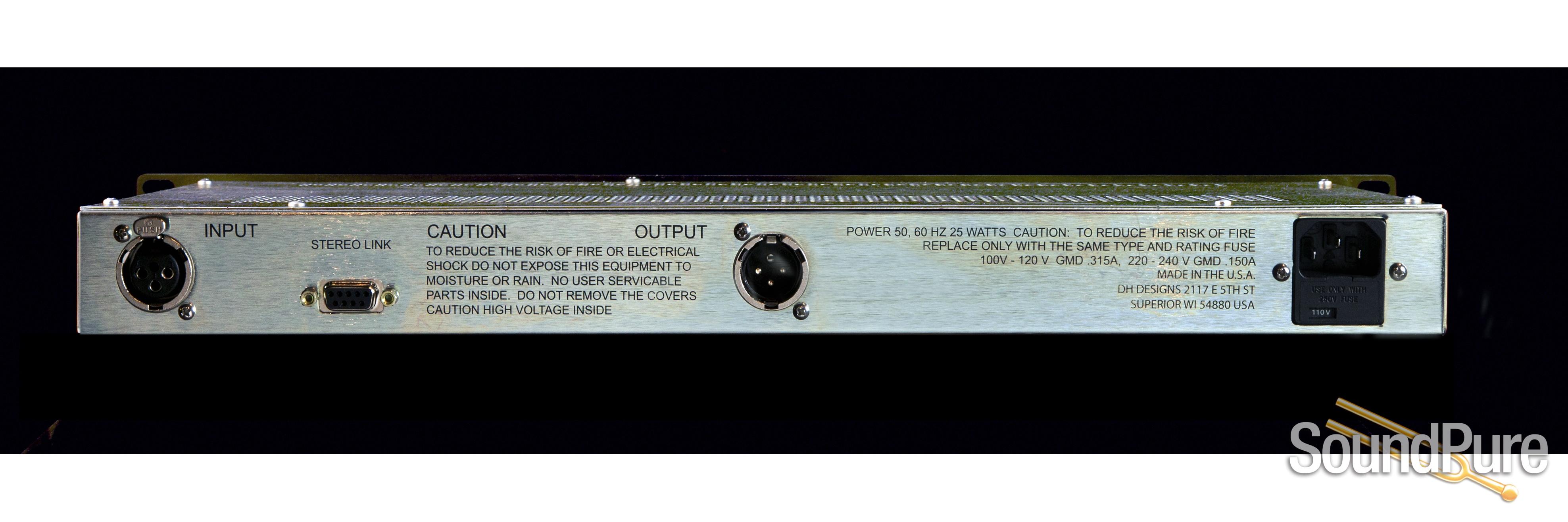 Dave Hill Designs Titan Single Channel Compressor Limiter Demo Fuse Box Location Open From Design