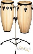 "Meinl 10"" & 11"" Headliner Series Conga Set- Natural w/ Stand"