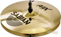 "Sabian 13"" AAX Stage Hi-Hat Cymbals-Brilliant Finish"