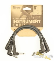 """Planet Waves PW-CGTP-305 Right Angle Patch Cable 6"""""""