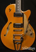 Duesenberg Starplayer TV Trans-Orange Semi-Hollow Guitar 486