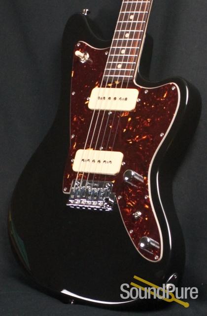 anderson raven black electric guitar 10 15 13a. Black Bedroom Furniture Sets. Home Design Ideas