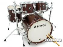Sonor 4pc Prolite Stage 2 Drum Set-Nussbaum