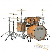 Sonor 4pc Prolite Stage 3 Drum Set-Natural Satin Demo/Open Box