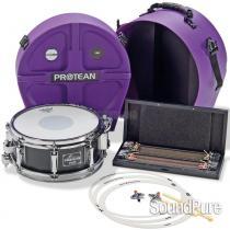 Sonor 14x5.25 Gavin Harrison Protean Snare Drum-Premium Pack