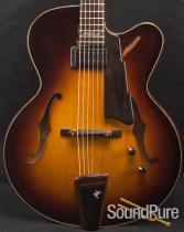 Eastman AR880CE-SB John Pisano Signature Archtop Guitar 749