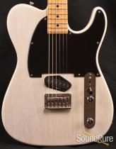 Anderson T Classic Trans White Electric Guitar 10-31-13P