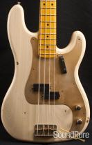 Nash PB-57 Mary Kaye White Electric Bass Guitar NG-2184