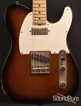 Tuttle 2-Tone Sunburst Nitro Worn T Guitar 232