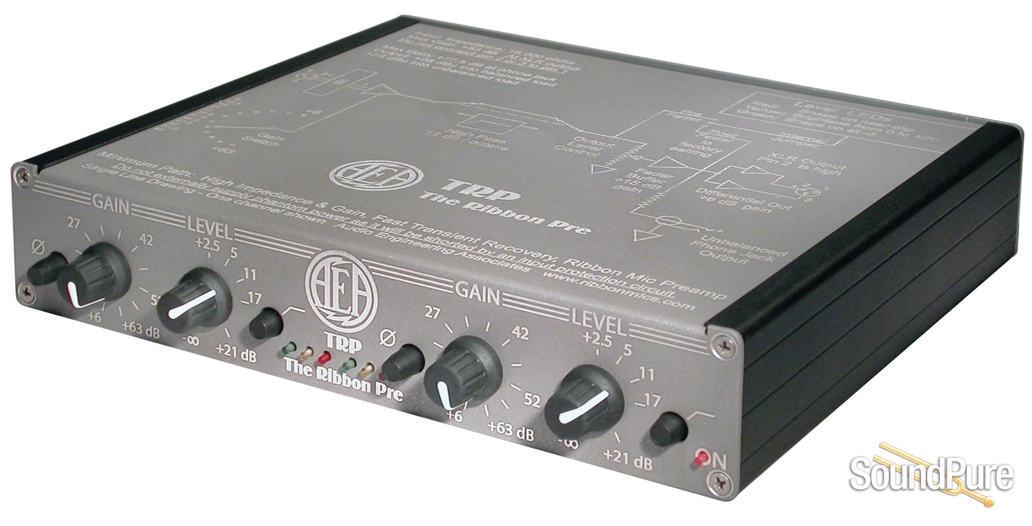 AEA TRP Stereo Ribbon Microphone Preamp | Soundpure com