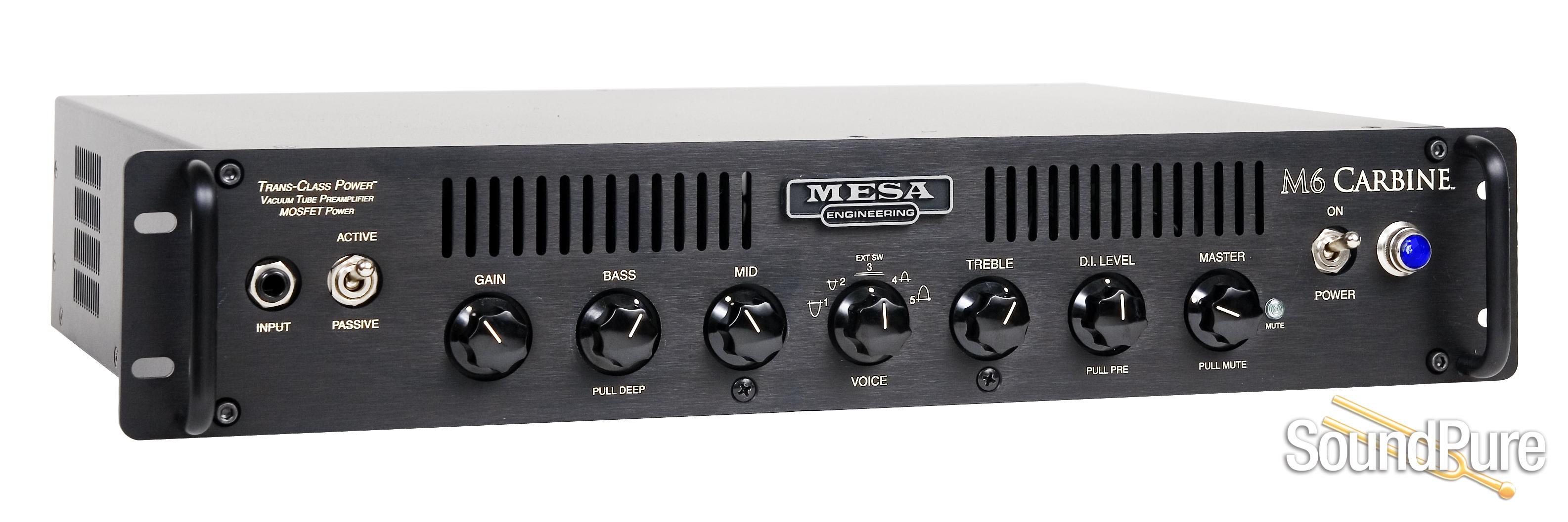 mesa boogie m6 carbine rackmount bass amp. Black Bedroom Furniture Sets. Home Design Ideas