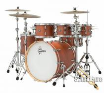 "Gretsch 4pc Marquee Maple Shell Pack- FREE 8"" Tom-Walnut"