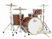 Gretsch 4pc Catalina Maple Drum Set-Walnut Glaze