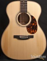 Boucher Bubinga OM Hybrid Acoustic Guitar- Pre Owned!