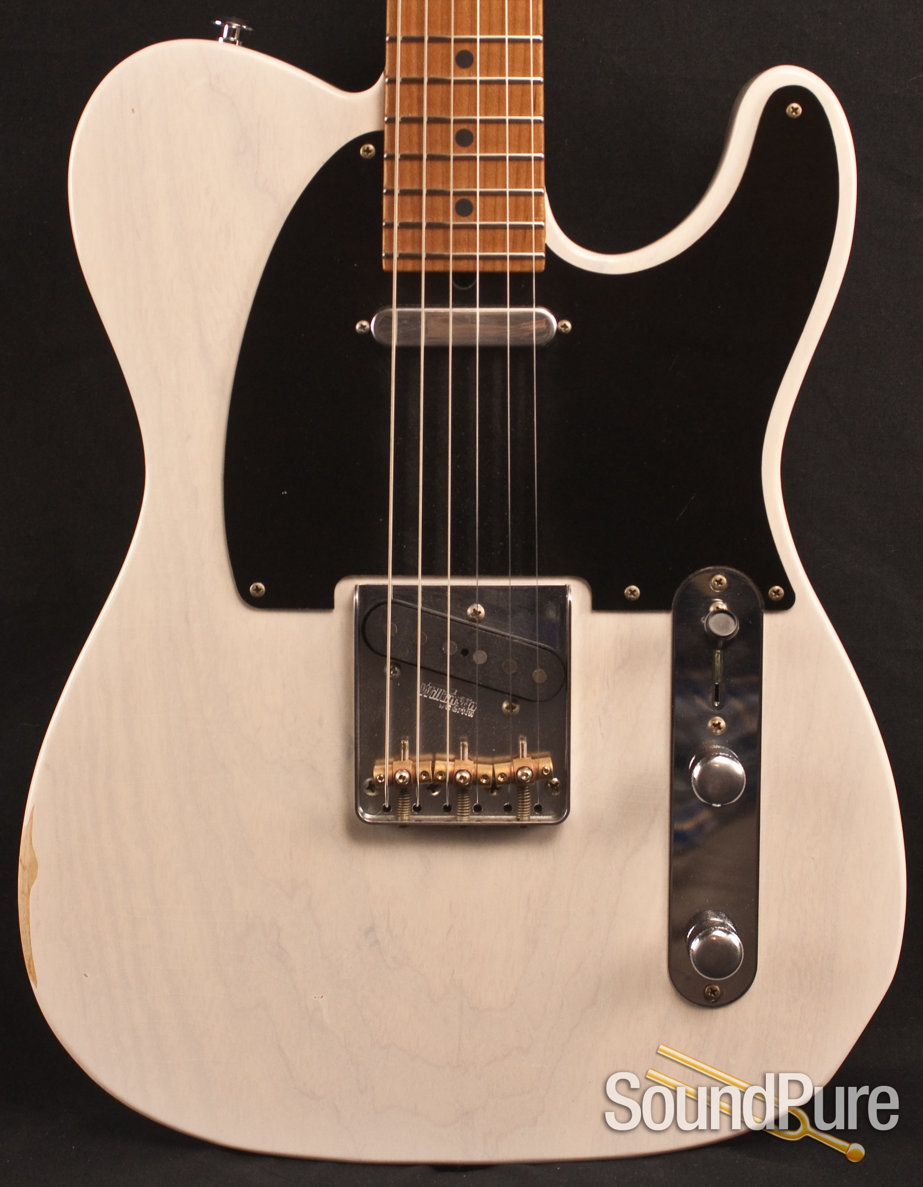 Suhr Classic T Antique Mary Kay White Electric Guitar 22371 Pick Up Strat Wiring Diagram Questions About What You See Want More Information Photos Or Just A Friendly Conversation With Someone That Cares And Who Has Actually Had Their Hands On