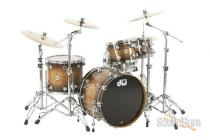 DW 4pc Collectors Series Lacquer Specialty Drum Set-22""
