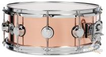 DW 5.5x14 Collectors Series Polished Copper Snare Drum