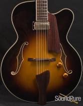 Eastman AR403CE Sunburst Archtop Guitar 131133029