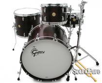 Gretsch 3pc USA Custom Drum Set- Walnut Satin