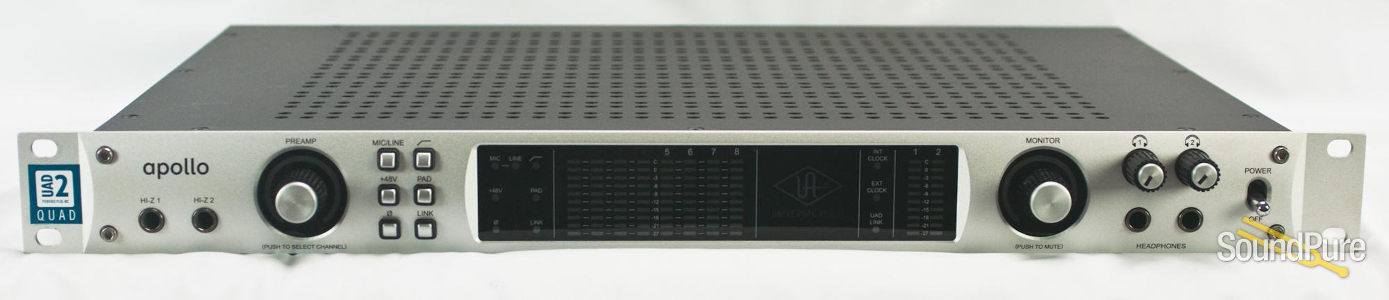 UA Apollo QUAD Audio Interface + Thunderbolt Card - Used