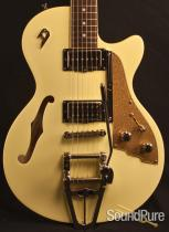 Duesenberg Starplayer TV Vintage White Semi-Hollow 47