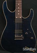 Anderson Angel Deep Ocean Blue with Binding Electric Guitar