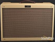 J&M Blondie Custom 2x12 Combo Amp - Cream - Used