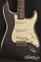 Nash S-63 Charcoal Frost Electric Guitar #154