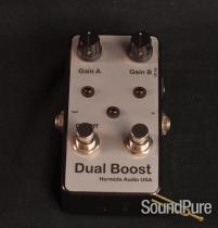 Hermida Audio USA Dual Boost Effect Pedal RARE