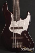 Xotic XJ-1T 5-string Alder Black Cherry Metallic Bass 1024