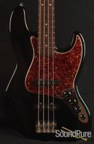 Fender Deluxe Mexican Jazz Bass Black -used