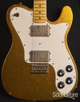 Nash T-72 DLX Gold Sparkle Electric Guitar SND-156