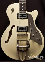 Duesenberg Starplayer TV+ Vintage White Semi-Hollow Electric
