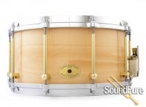 Noble & Cooley 7x14 SS Classic Beech Snare Drum-Natural