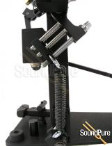 Axis Microtune Single Bass Drum Pedal Spring Tension -Black