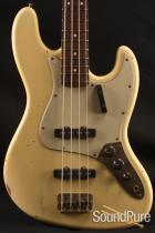 "Nash JB-63 ""Jazz Bass"" Vintage White NG 2349 Electric Bass"