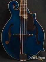Eastman MD615 Blue F-Style Mandolin 10146238- Demo