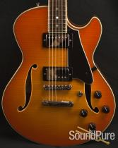 Comins GCS-1 Tangerine Burst Semi-Hollow Guitar 112123