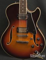 Comins GCS-1 Autumn Burst Semi-Hollow Electric Guitar 112137