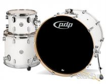PDP 3pc Concept Maple Drum Set by DW-Pearlescent White